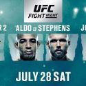 UFC Returns to Calgary with a Pivotal Lightweight Rematch between contenders Eddie Alvarez and Dustin Poirier