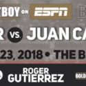 Vergil Ortiz Jr to battle Juan Carlos Salgado in main event of June 23 Golden Boy Boxing on ESPN at Belasco Theater