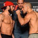 Pesaje Oficial UFC Utica: Jimmie Rivera (134.6) vs. Marlon Moraes (135.4)