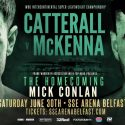 Catterall steps up to face McKenna in Belfast