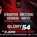 Glory 54 Birmingham Weigh-In Results