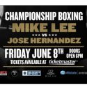 Renaissance Man Mike Lee inching towards a world title shot