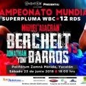 En juego la supremacía boxística México-Argentina en Berchelt vs Barros este sábado en Mérida, Yucatán