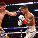 Leo Santa Cruz Outpoints Abner Mares in Rematch to Retain WBA Featherweight World Title by Unanimous Decision Saturday Night Live on SHOWTIME