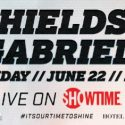 Untelevised undercard of June 22 'Shields vs. Gabriels' event stacked with local and international talent