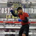 Listos Tito Acosta y Carlos Buitrago para su batalla en el Choliseo