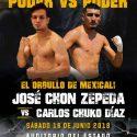 Expectación en Mexicali por ¨Chon¨ Zepeda vs ¨Chuko¨Díaz este sábado por Azteca 7, la Casa del Boxeo