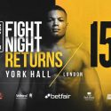 Official Weigh-in for Hayemaker Ringstar event: Joe Joyce – 17st 13lbs vs. Ivica Bacurin – 14st 10lbs