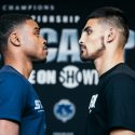 Errol Spence Jr.-  I've been training for 10 weeks and I'm 100 percent focused on Ocampo