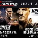 7TH Annual UFC International Fight Week™ takes over Las Vegas from July 3 – 8