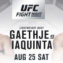 Thriller between lightweight contenders (#7) Justin Gaethje and (#10) Al Iaquinta headline UFC debut in Lincoln, Nebraska