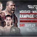Bellator anuncia contrato millonario de MMA con DAZN