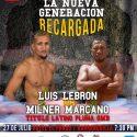 El boricua 'Popeye' Lebrón expondrá título latino pluma ante el colombiano Milner Marcano
