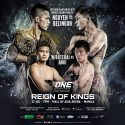 Complete card announced for ONE: Reign of Kings in Manila on 27 July