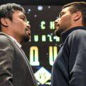 La pelea de Lucas Matthysse y Manny Pacquiao en números