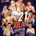 """Yulihan Luna, ex campeona mundial, Ericky """"Habanerito"""" Lopez y Christian """"Niñote"""" Gomez, buscarán nocauts en Guadalajara, el 21 de julio"""