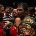 Manny Pacquiao / Por lo pronto sigue siendo el mismo de siempre