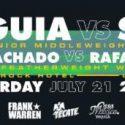 Calendario de eventos Jaime Munguia vs. Liam Smith Las Vegas, Nevada por Azteca 7, La Casa del Boxeo
