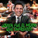 Oscar de la Hoya aseguró quien fue el mejor boxeador que enfrentó