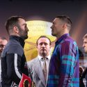Usyk and Gassiev face-off in Moscow