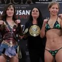 INVICTA FC 30 WEIGH-IN: Jinh Yu Frey (104.8 lb) vs. Minna Grusander (104.7 lb)