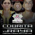 Mayela Pérez y Monserrat Alarcón, por el campeonato mundial WBA de peso átomo