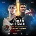 Danny Roman Makes Third Defense of WBA Title on Oct. 6 Against Gavin McDonnell
