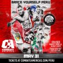 Combate Americas Announces Complete Fight Card for South America Debut in Peru